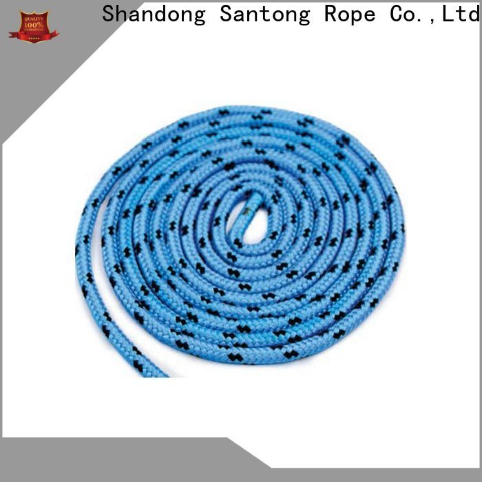 anti-wear braided nylon rope factory for sailboat