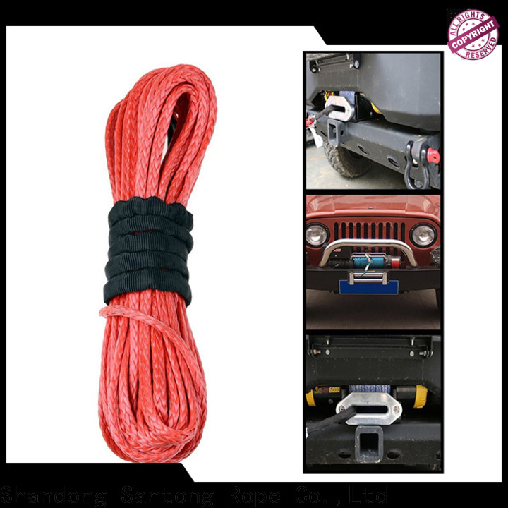 SanTong winch rope wholesale for car