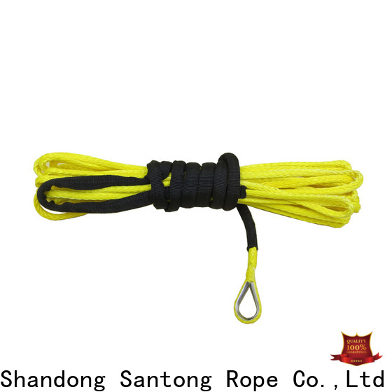 safety synthetic winch line directly sale for truck