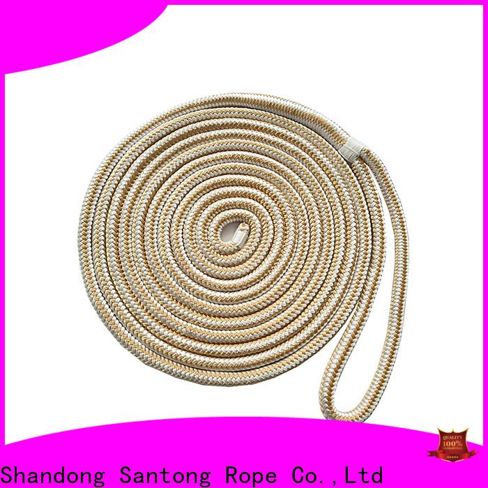 SanTong stronger mooring rope factory price for wake boarding