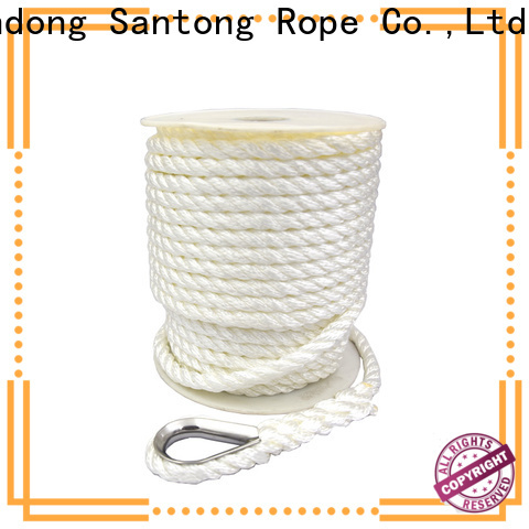 SanTong good quality twisted rope at discount for oil