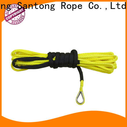 SanTong light synthetic winch rope manufacturer for car
