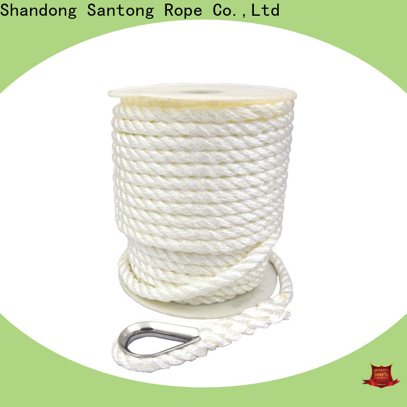 SanTong durable twisted rope factory price for oil