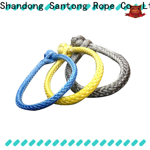 SanTong customized soft shackle from China for car