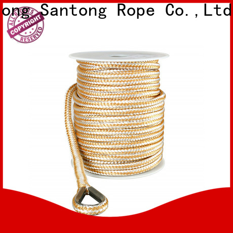 SanTong durable pp rope factory price for saltwater