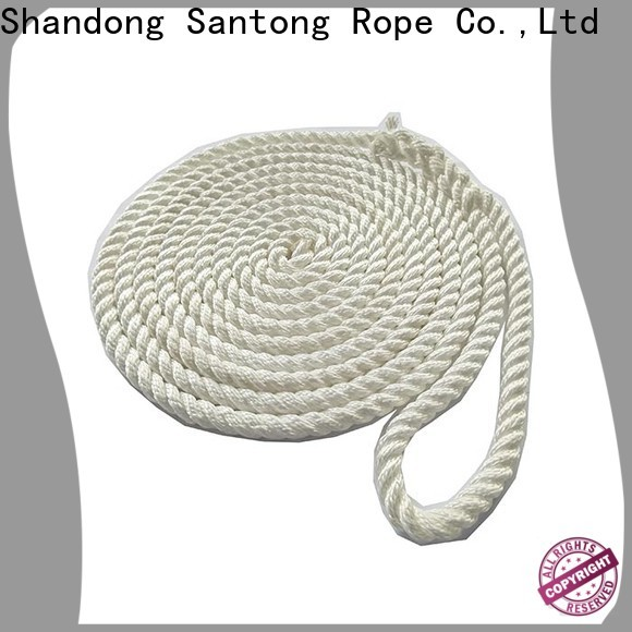 SanTong stretch dock lines factory price for wake boarding