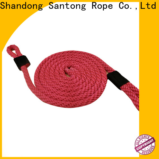 SanTong braided rope with good price for prevent damage from jetties