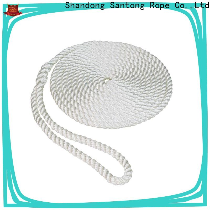 SanTong multifunction polyester rope inquire now for prevent damage from jetties