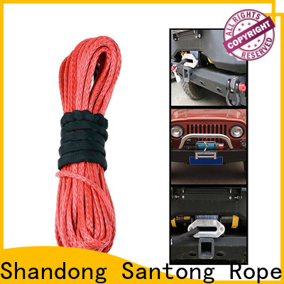 high quality synthetic winch rope wholesale for truck