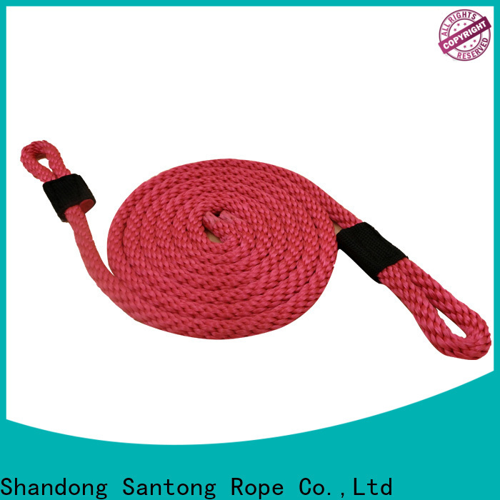 SanTong light braided rope with good price for pilings