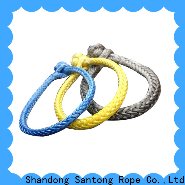 customized shackle rope from China for vehicle