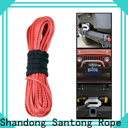 SanTong safety synthetic winch line wholesale for car