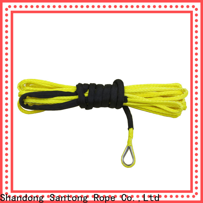 SanTong stronger winch rope directly sale for vehicle