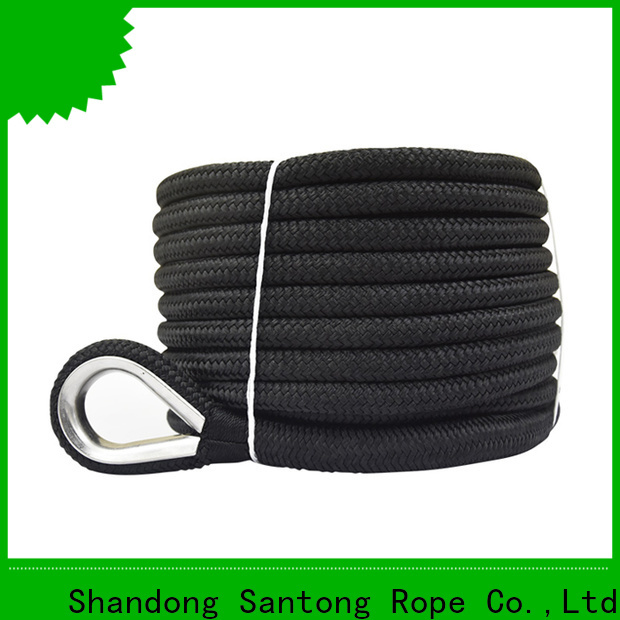 SanTong durable boat anchor rope factory price for saltwater