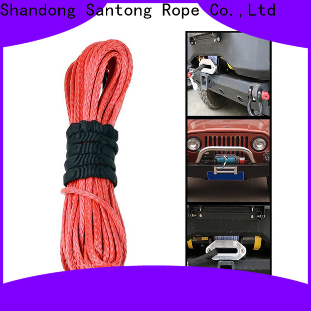 SanTong synthetic winch rope on sale for car