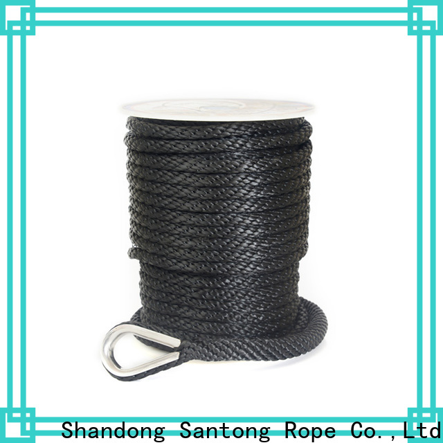 professional polyester rope factory price for gas