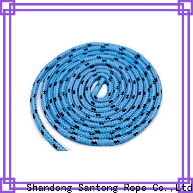 anti-wear polyester rope design for sailboat