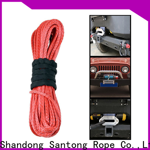 SanTong durable winch rope on sale for truck