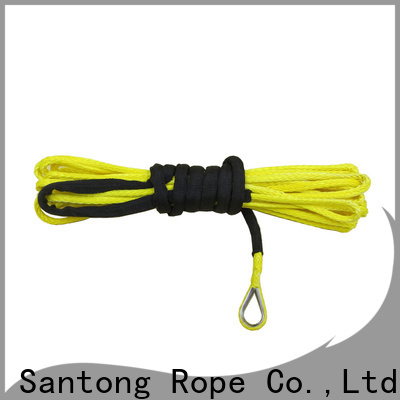 SanTong light synthetic winch rope wholesale for vehicle