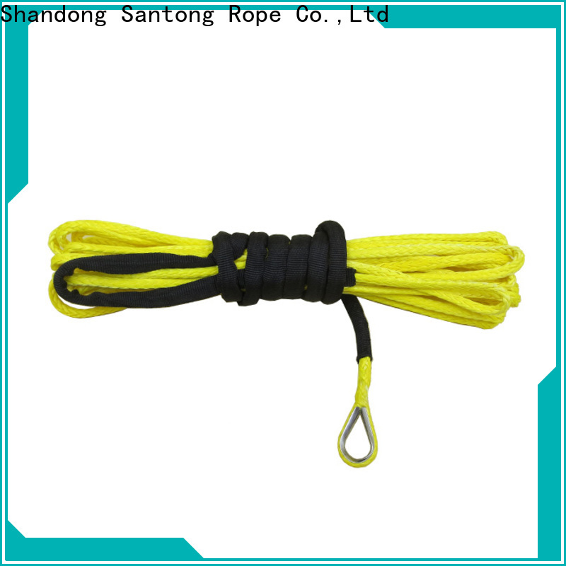 SanTong winch rope directly sale for vehicle