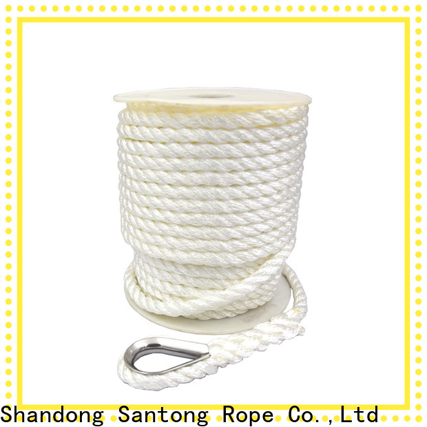 SanTong long lasting anchor ropes factory price for saltwater