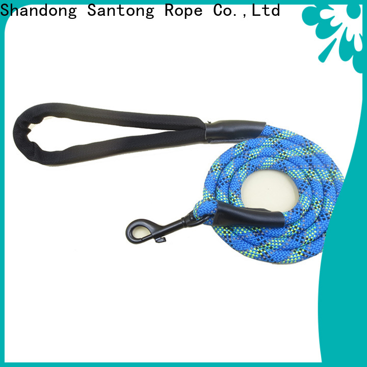 SanTong long lasting braided dog leash promotion for dog