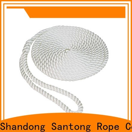 SanTong multifunction braided rope with good price for pilings
