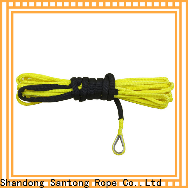 SanTong synthetic winch rope directly sale for car