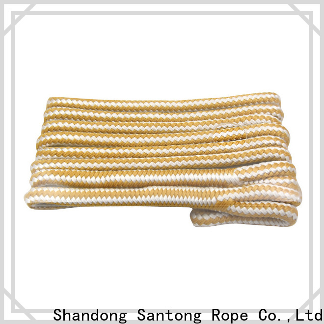 SanTong utility braided rope design for prevent damage from jetties