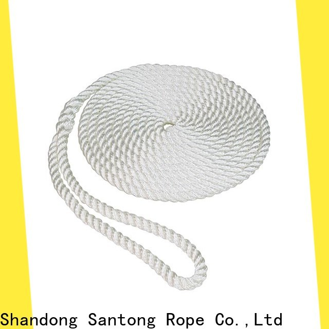 SanTong boat fender ropes inquire now for prevent damage from jetties