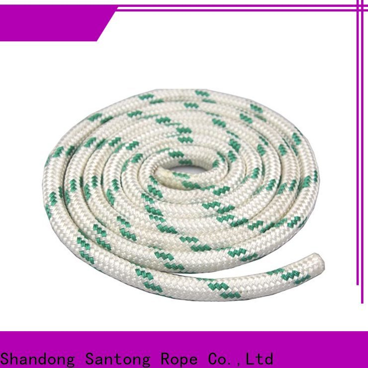 durable braided nylon rope design for boat