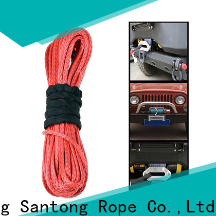 SanTong safety synthetic winch line wholesale for vehicle