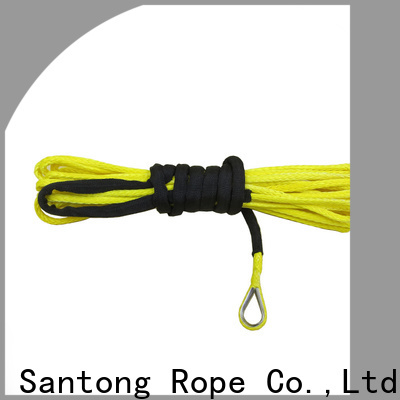 SanTong synthetic winch rope manufacturer for car