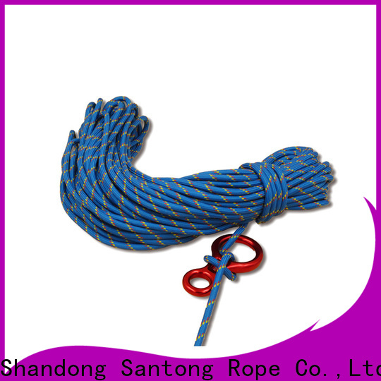 SanTong braided rope manufacturer for climbing