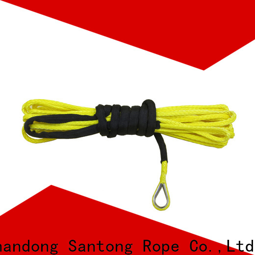 SanTong safety synthetic winch line manufacturer for vehicle