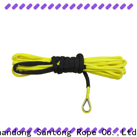 SanTong durable winch line directly sale for truck