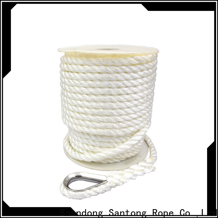 SanTong good quality anchor rope supplier for oil