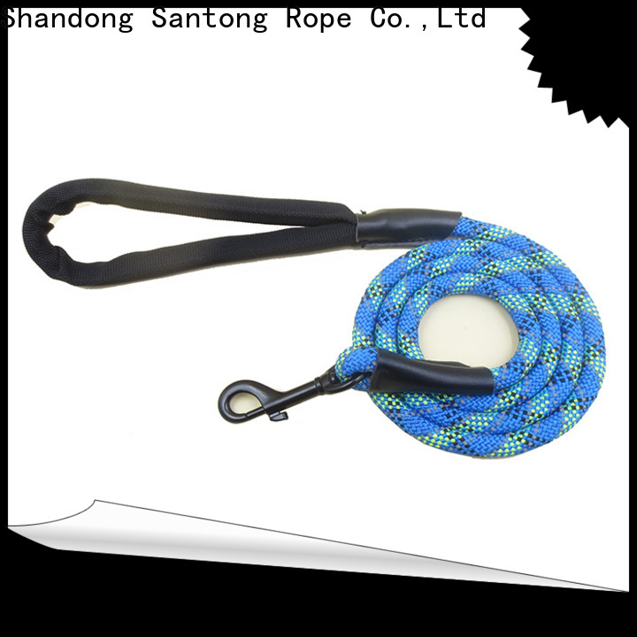 durable rope leash supplier for medium dog