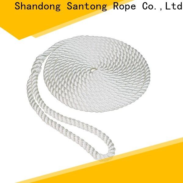 SanTong boat fender ropes design for pilings