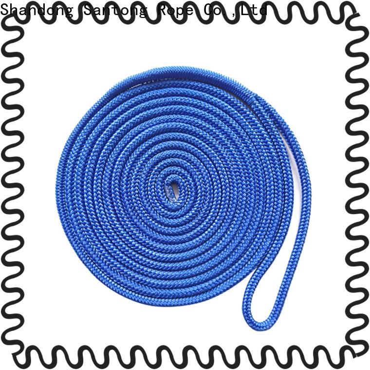 SanTong stronger braided nylon rope supplier for wake boarding