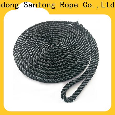 stronger braided nylon rope supplier for tubing
