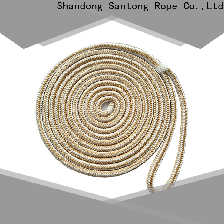 SanTong stronger mooring rope factory price for tubing