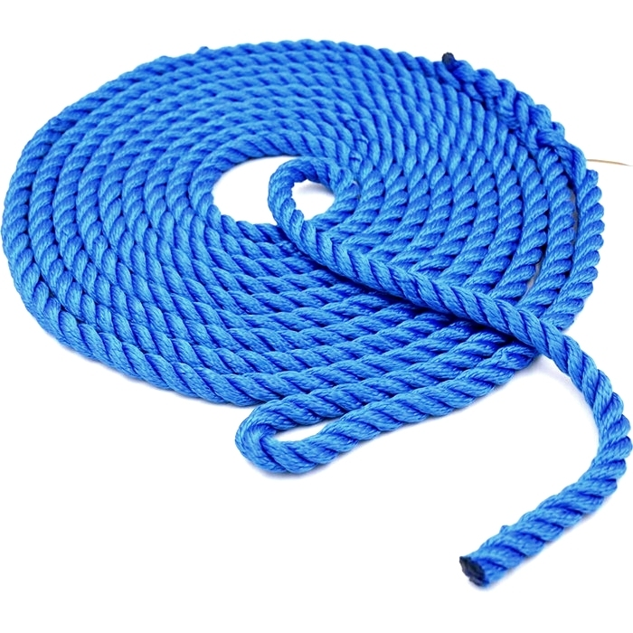 3 strand nylon material 5/8''*35' dock ropes