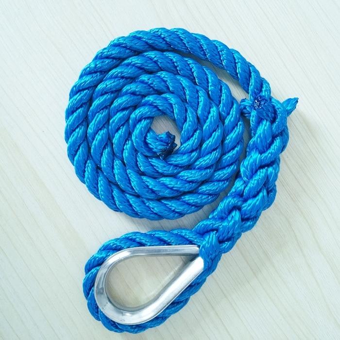 5/8''*250' nylon double braided anchor line
