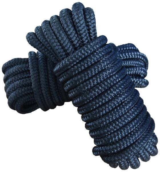 3/8*10 Nylon Polyester Double Braided Dock Line for Yachts