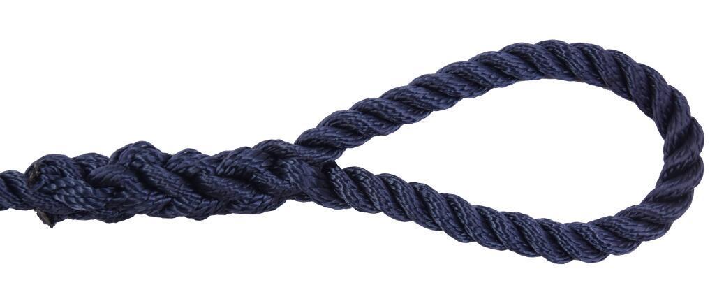 3/8*6 Nylon Polyester 3 Strand Twisted Fender Line