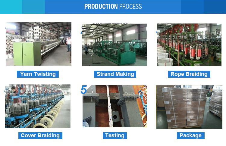 professional twisted rope factory price for gas