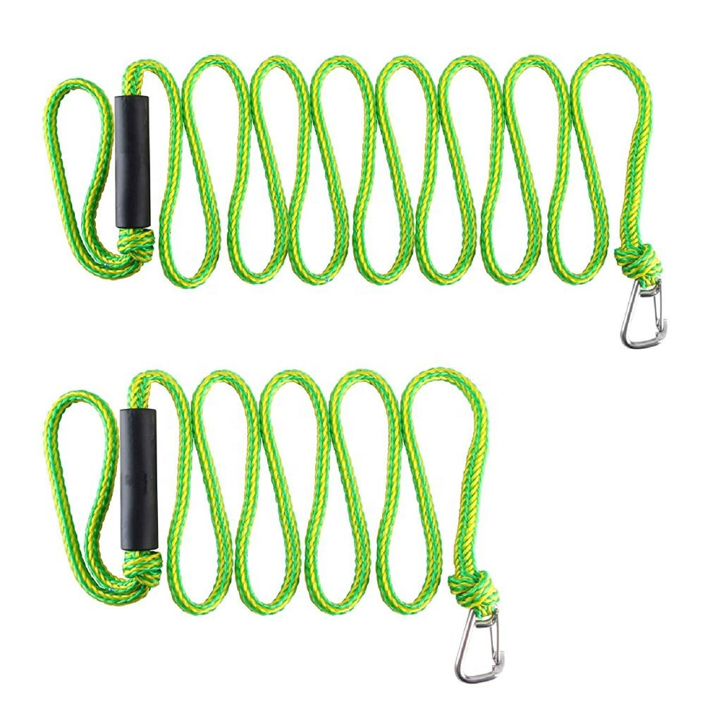PWC bungee cord  Dock Line with foam float  boat accessory for Boat 4ft 5.5ft 7ft kayak,jet ski,ponton supplier