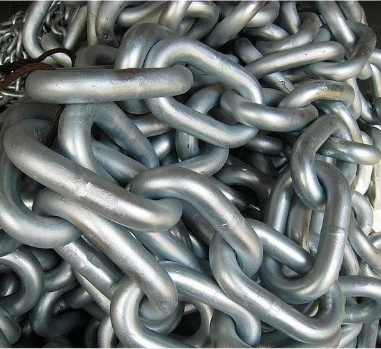 High quality marine hardware ANCHOR CHAIN DIN766 SHORT LINK,AISI316 in 6mm, 7mm, and 8mm specification