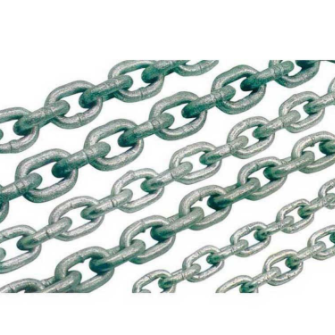 11,12,13,16mm ANCHOR CHAIN DIN766 SHORT LINK, HOT DIPPED GALV.